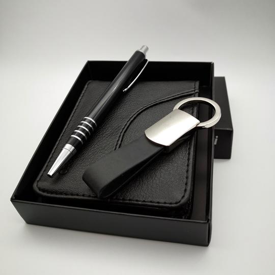 isme özel cüzdan anahtarlık kalem