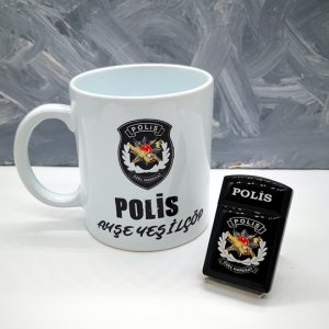 Pöh Polise Hediye Çakmak Kupa