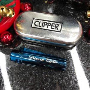 Metalik Mavi Clipper