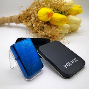 USB Çakmak Police Mavi
